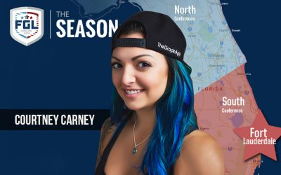 The Fort Lauderdale team of the FGL Season has been awarded to Courtney Carney