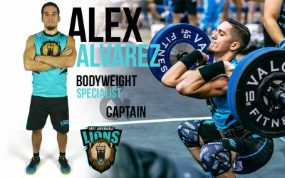 GRID vs CrossFit –  Ft Lauderdale Lions Captain Alex Alvarez