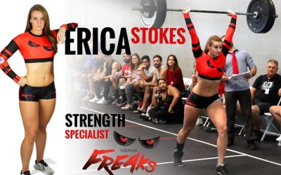 GRID vs CrossFit – CrossFitter, Dancer and Freaks player – Erica Stokes