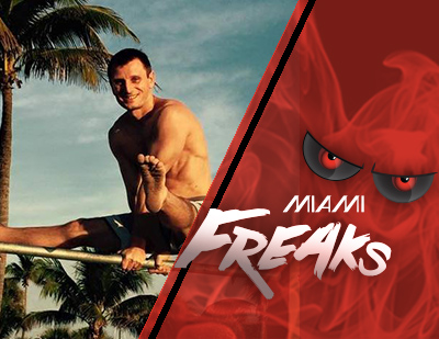 The Miami Freaks hire two time Olypian Deyan Yordanov as gymnastics coach