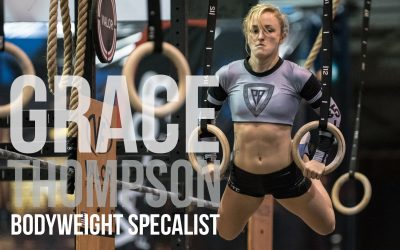 GRID vs CrossFit: Tiny but Powerful Bodyweight Ninja Grace Thompson