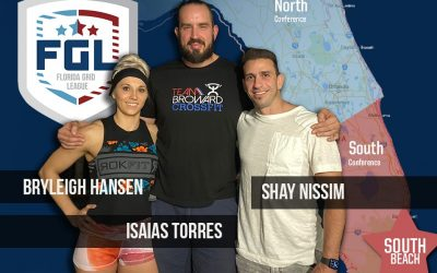 A new Southern Conference team is awarded to Shay Nissim, Isaias Torres, and Bryleigh Hansen