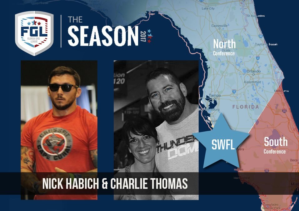 The South West Florida team of the FGL Season is awarded to Nick Habich and Charlie Thomas