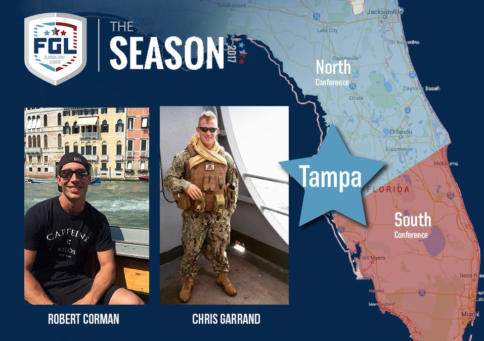 Tampa Bay team of the FGL Season has been acquired by Rob Corman & Chris Garrand