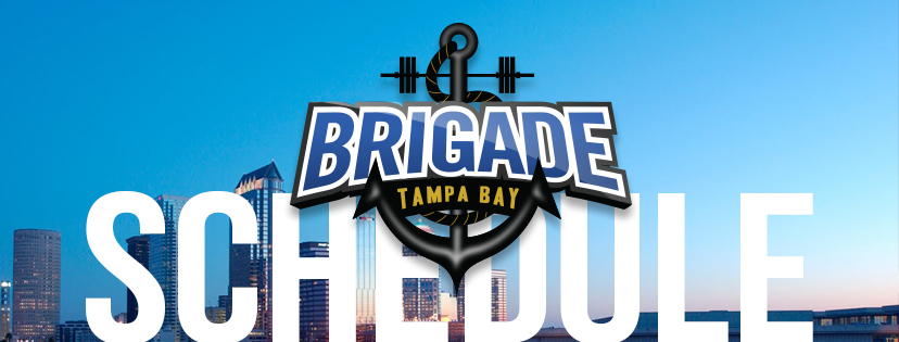 The Tampa Bay Brigade Match 2018 Schedule