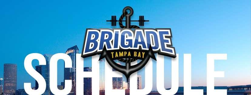 The Tampa Bay Brigade Match 2018 Schedule