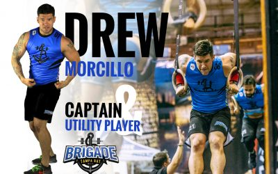 GRID vs CrossFit –  Tampa Bay Brigade Captain – Andrew Morcillo