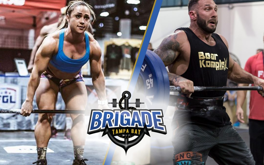 Alanna Fisk and Clint Clemens sign with the Tampa Bay Brigade