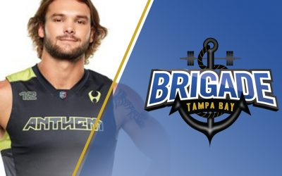 The Brigade Sign Past Pro Ricky Morgan