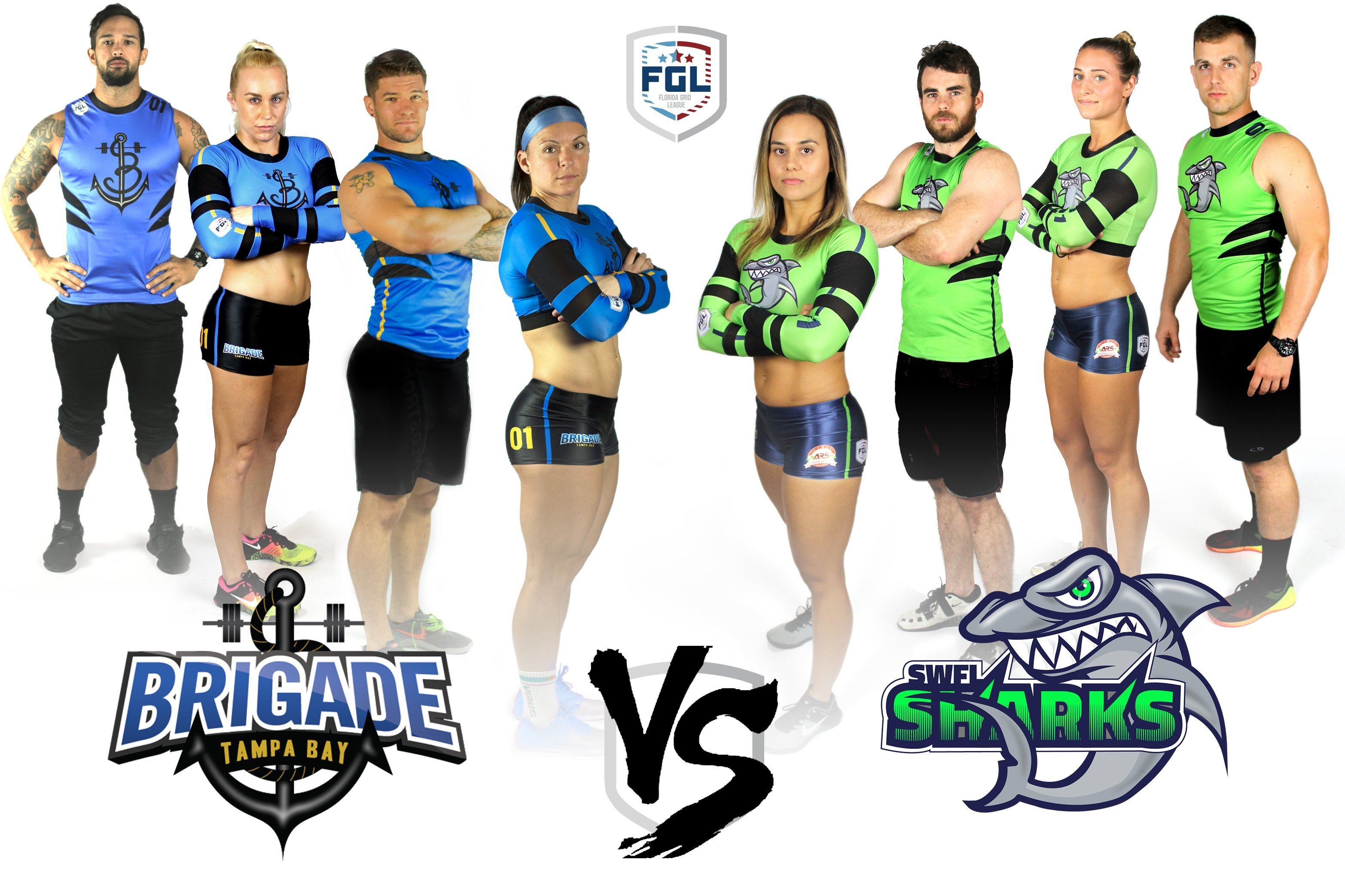 The Tampa Bay Brigade VS The SWFL Sharks