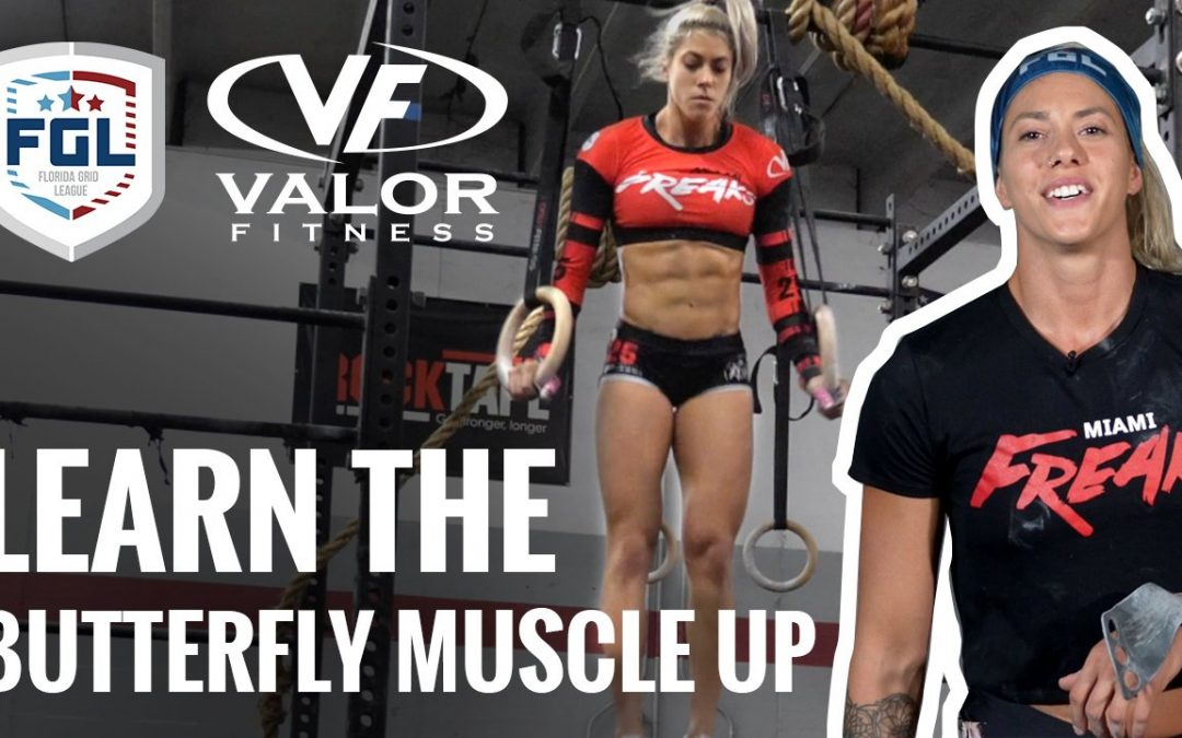 How To Perform the Butterfly Muscle up by Paula Leyes. Video Tutorial is released